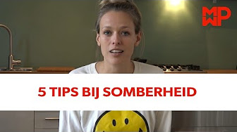 5 tips bij somberheid