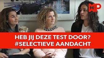 Heb jij deze test door? #Selectieve aandacht